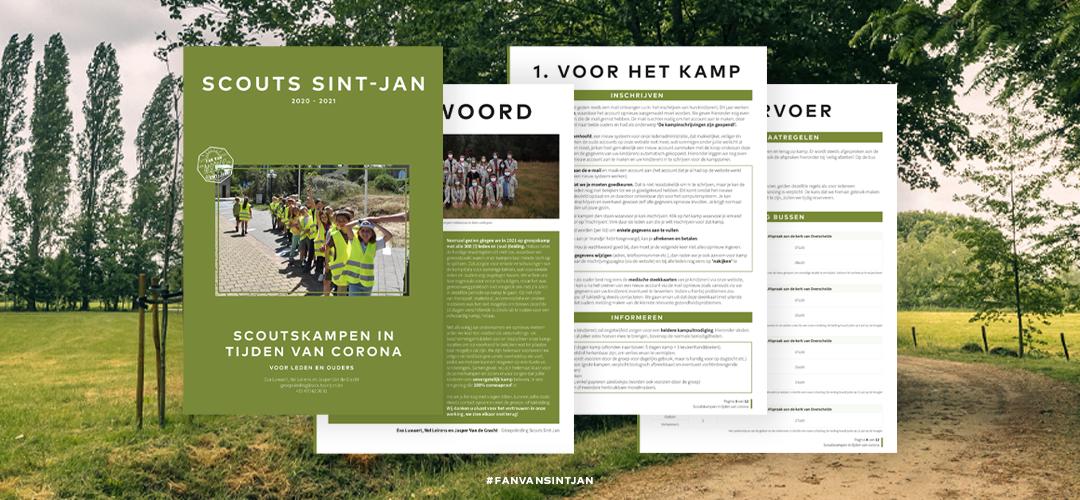 Bekijk zeker onze brochure ter voorbereiding van onze zomerkampen.