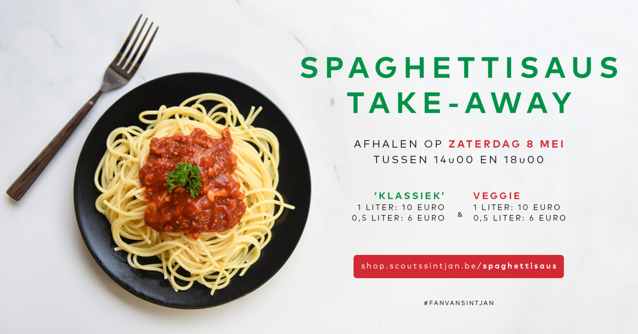 Jin '03 kookt: Spaghettisaus take-away!